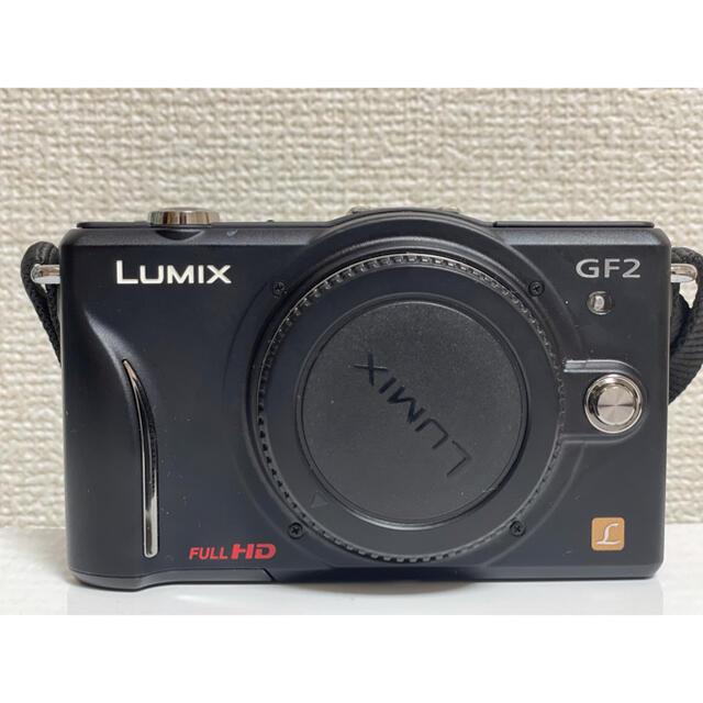 Panasonic(パナソニック)のPanasonic LUMIX GF2 デジタル一眼カメラ/ボディDMC-GF2 スマホ/家電/カメラのカメラ(デジタル一眼)の商品写真