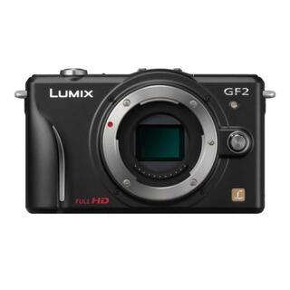 パナソニック(Panasonic)のPanasonic LUMIX GF2 デジタル一眼カメラ/ボディDMC-GF2(デジタル一眼)