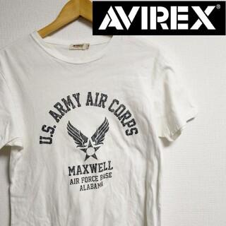 AVIREX - アヴィレックス AVIREX ロゴ Tシャツ ホワイト