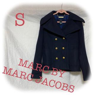 マークジェイコブス(MARC JACOBS)の【美品!】MARC JACOBS コート ネイビー ジャケット レディース(その他)