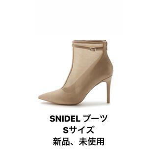 snidel - SNIDEL ショートブーツ Sサイズ