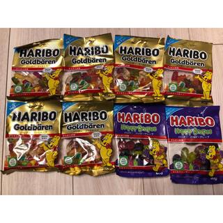 ハリボーゴールドベア6袋&ハッピーグレープ2袋(菓子/デザート)