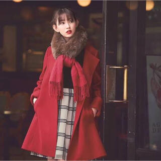リランドチュール(Rirandture)のリランドチュール♡美人百花掲載♡3WAYファーストール付きAラインコート(毛皮/ファーコート)