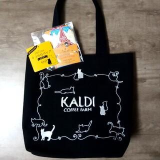 カルディ(KALDI)のカルディ ネコの日バッグとカレンダー 大(トートバッグ)