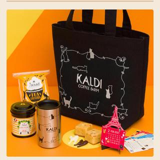 カルディ(KALDI)のKALDI 猫の日バッグプレミアム(トートバッグ)
