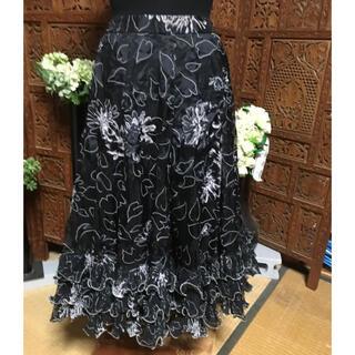 社交ダンス スカート♡カラオケにも(ダンス/バレエ)