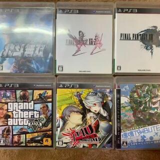 PlayStation3 - PS3 グランド・セフト・オート5 GTA など ソフトまとめ売り