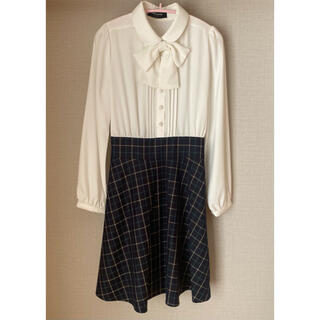 ポンポネット(pom ponette)の卒服 襟付きワンピース(ドレス/フォーマル)