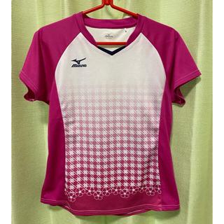 【お値下げ】Mizuno  レディースゲームシャツ【レディースLサイズ】(バドミントン)
