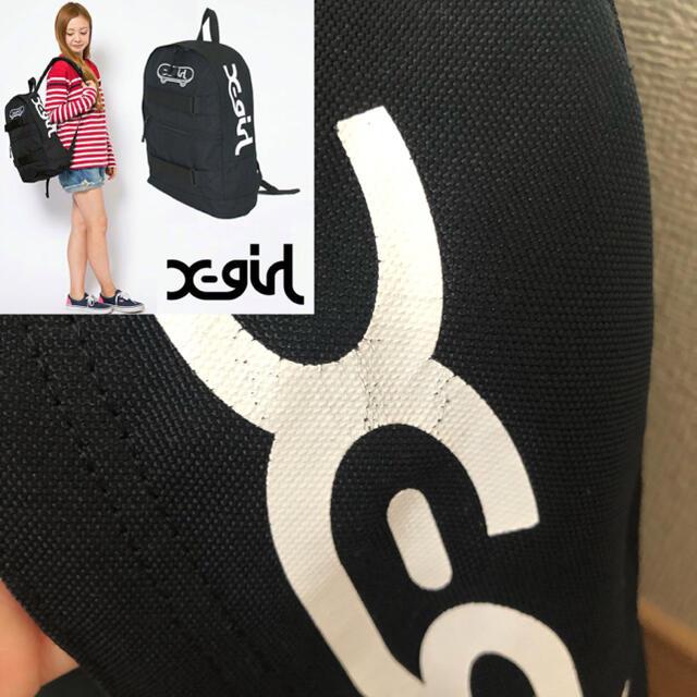 X-girl(エックスガール)のx-girl バックパック リュック レディースのバッグ(リュック/バックパック)の商品写真