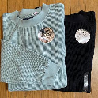 バックナンバー(BACK NUMBER)のBACK NUMBER ワッフルロンT 2枚セット(Tシャツ/カットソー(七分/長袖))