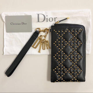 クリスチャンディオール(Christian Dior)のDior ディオール スタッズ クラッチ バッグ ハンドバッグ カードケース(クラッチバッグ)