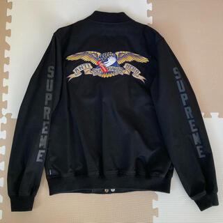 シュプリーム(Supreme)のSupreme AntiHero Bomber Jacket(ブルゾン)