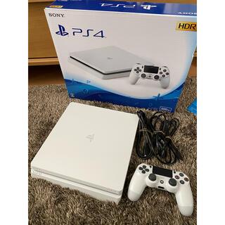 PlayStation4 - PS4 本体 グレイシャー・ホワイト 500GB CUH-2000A