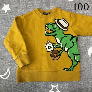 kladskap - クレードスコープ  恐竜 トレーナー 100