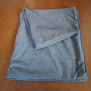 ムジルシリョウヒン(MUJI (無印良品))の無印 こたつ布団カバー グレー 長方形(こたつ)