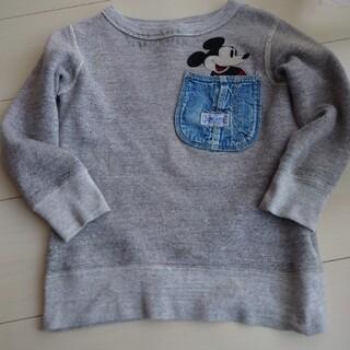 デニムダンガリー(DENIM DUNGAREE)のデニムダンガリー ミッキー 110(Tシャツ/カットソー)