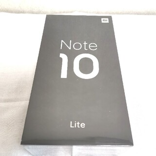 ANDROID - Xiaomi Mi Note 10 Lite ネビュラパープル 64GB