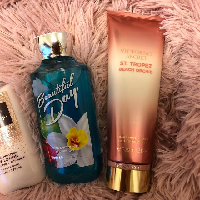 Bath & Body Works(バスアンドボディーワークス)の4本セットお買い得 コスメ/美容のコスメ/美容 その他(その他)の商品写真