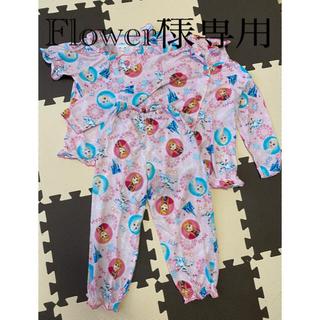 Disney - 子供服パジャマ 3点セット