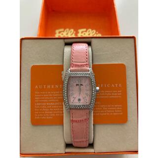 フォリフォリ(Folli Follie)のFolli Follie フォリフォリ レディース腕時計 ピンク(腕時計)