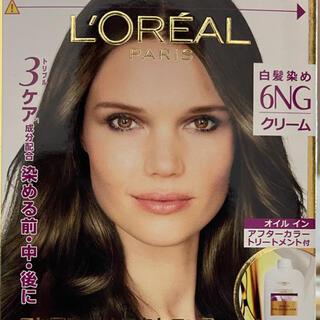 L'Oreal Paris - ロレアルパリ エクセランス 白髪染め 6NG クリームタイプ  ロレアル