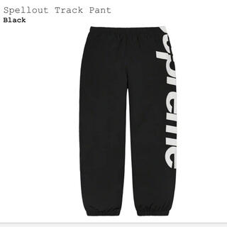 シュプリーム(Supreme)のSupreme Spellout Track Pant Black L(その他)
