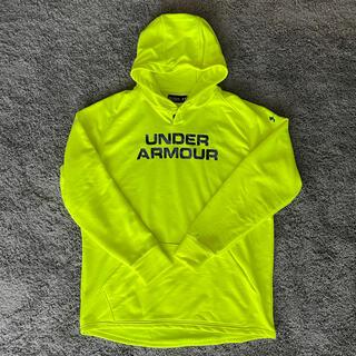 UNDER ARMOUR - UNDERARMOURパーカー ネオンイエロー