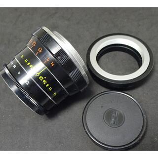 180 美品 インダスター61  オールドレンズ アダプター付(レンズ(単焦点))
