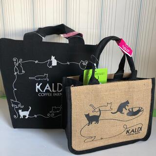 カルディ(KALDI)のカルディ ネコの日バック 2種(トートバッグ)
