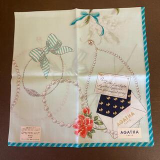 アガタ(AGATHA)の限定入荷!☆ギフト袋入り日本製アガタハンカチ新品(ハンカチ)