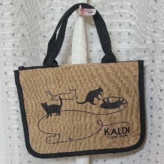 カルディ(KALDI)の【限定】ハンドバッグ(KALDI ネコの日2021通常版)(ハンドバッグ)