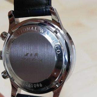 インターナショナルウォッチカンパニー(IWC)の【ほぼ新品】IWC ポルトギーゼ クロノグラフ 機械式時計 メンズ(腕時計(アナログ))