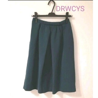 ドロシーズ(DRWCYS)の深緑色スカート 膝丈ドロシーズ(ひざ丈スカート)