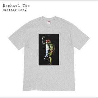 シュプリーム(Supreme)のSupreme Raphael Tee Heather Grey XL(Tシャツ/カットソー(半袖/袖なし))