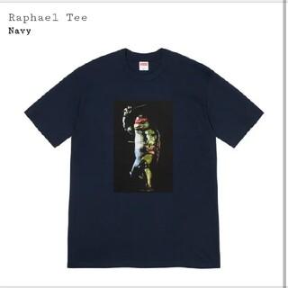 シュプリーム(Supreme)のSupreme Raphael Tee Navy L(Tシャツ/カットソー(半袖/袖なし))