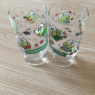 サンリオ - 昭和レトロ けろけろけろっぴ グラス