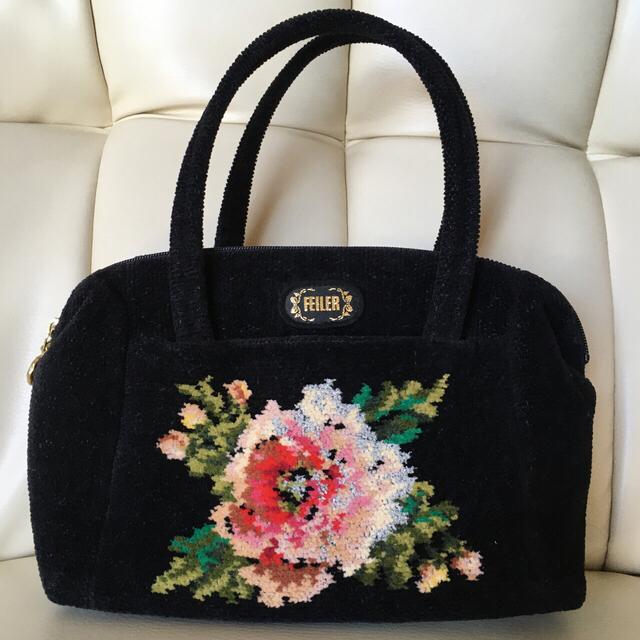 FEILER(フェイラー)の【美品】フェイラー バッグ  レディースのバッグ(ハンドバッグ)の商品写真