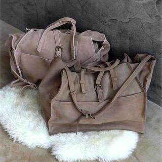 ルームサンマルロクコンテンポラリー(room306 CONTEMPORARY)のスエードリアルレザーハンドバッグ(ハンドバッグ)