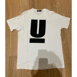 UNDERCOVER - UNDERCOVER アンダーカバー 半袖Tシャツ Uロゴ ホワイト カットソー