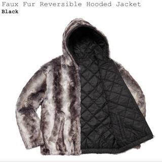 シュプリーム(Supreme)のM Supreme Faux Fur Reversible Hooded(ブルゾン)