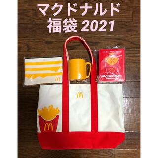 マクドナルド(マクドナルド)の【新品・未使用】マクドナルド 福袋 2021   グッズのみ(ノベルティグッズ)