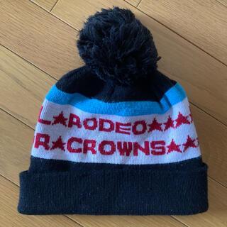 ロデオクラウンズ(RODEO CROWNS)のRODEO CROWNS♡ニット帽(ニット帽/ビーニー)