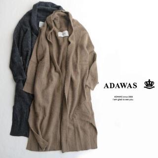 アダワス(ADAWAS)のADAWAS ラクーン ニットコート(ガウンコート)