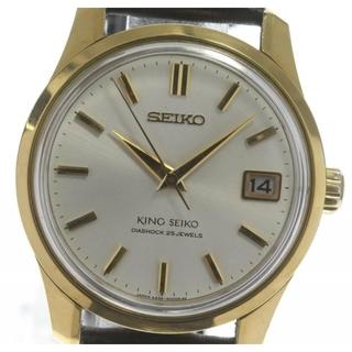 セイコー(SEIKO)のセイコー キングセイコー  4402-8000 手巻き メンズ 【中古】(腕時計(アナログ))