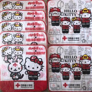 ハローキティ - ハローキティ ハンドタオル 非売品 日本赤十字