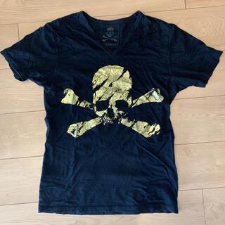 ロエン(Roen)のRoen 金箔プリント スカル Tシャツ(Tシャツ/カットソー(半袖/袖なし))