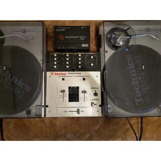 Technics ターンテーブル SL-1200MK5-K テクニクス セット(ターンテーブル)