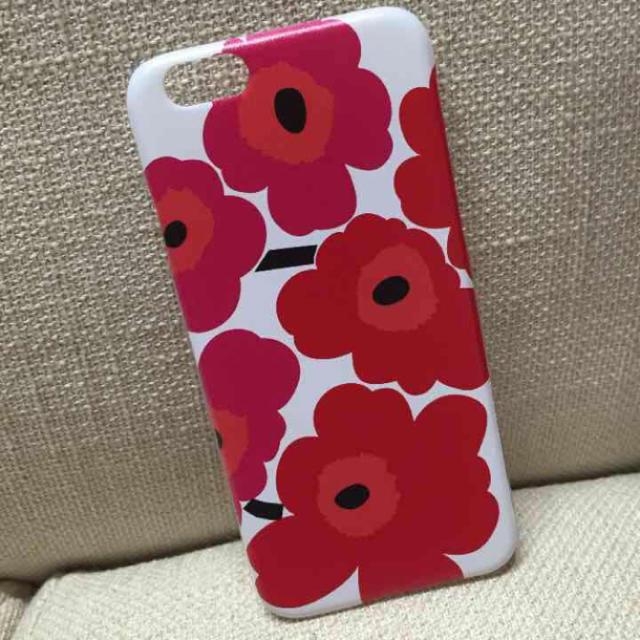 marimekko(マリメッコ)のマリメッコ柄*iphone6ハードケース スマホ/家電/カメラのスマホアクセサリー(iPhoneケース)の商品写真