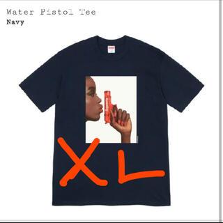 シュプリーム(Supreme)の専用 XL Supreme Water Pistol Tee Navy (Tシャツ/カットソー(半袖/袖なし))